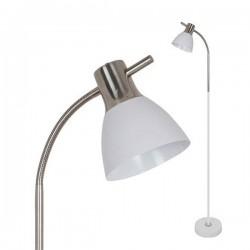 LAMPADAR ALUMINIU ALB MAT MAX 60W SKU 3704