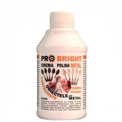 CREMA POLISH METAL 250 GR PRO BRIGHT