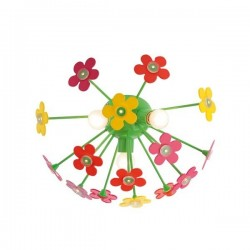 APLICA FLOWERS PL 3X28W E14+LED 15X0.06W+TELECOMANDA 04-350
