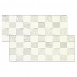 DECOR VERIDIANA WHITE STR 74.8 X 29.8 CM