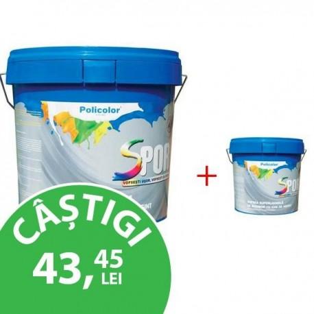 VOPSEA SUPERLAVABILA SPOR CU IONI DE ARGINT - 15 L + 2.5 L CADOU