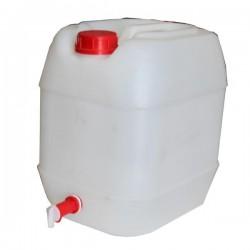 CANISTRA DIN PLASTIC CU CANEA - 20 L