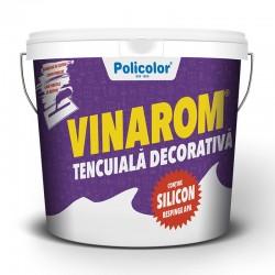 TENCUIALA DECORATIVA VINAROM CU SILICON R15 25 KG
