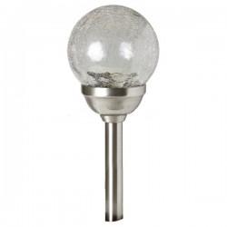 LAMPA SOLARA DE GRADINA MULTICOLORA CU GLOB DIN STICLA MX 826