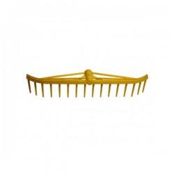 GREBLA PLASTIC CU INTARITURA SI 16 DINTI - 550 X 80 MM 12250