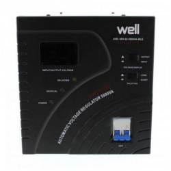 REGULATOR AUTOMAT DE TENSIUNE WELL - 5000 VA