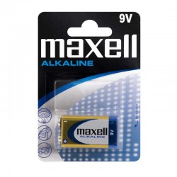 BATERIE 9V ALCALINA - MAXELL 6LR61