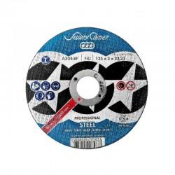 DISC ABRAZIV DEBITARE METAL PROFESSIONAL 125 X 1.6 MM P1251622M