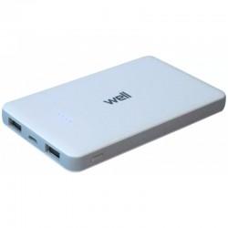 ACUMULATOR USB 6000 MAH 2.1 A WELL