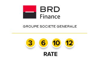 Solutii de finantare in magazinele Vasion prin BRD Finance